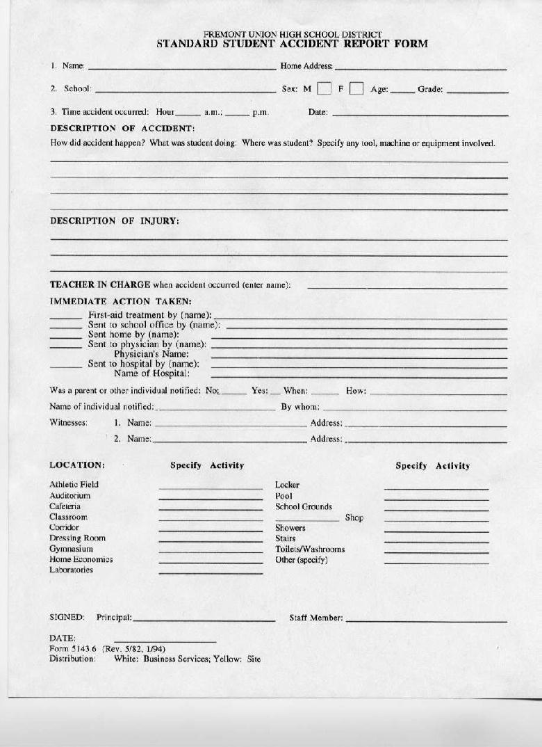 Lynbrook High School Forms – Sports Physical Form