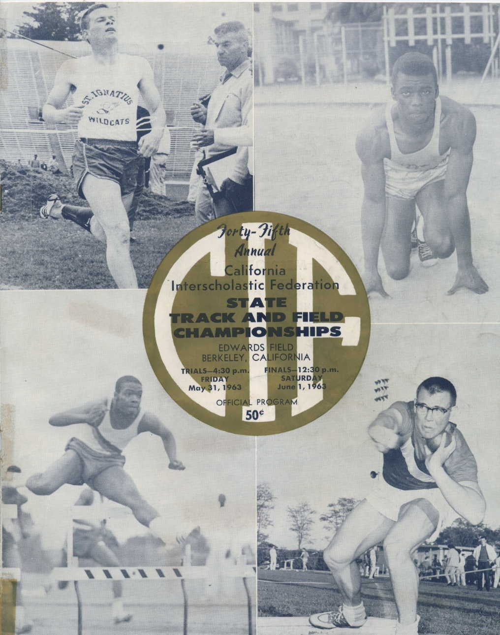 California State Meet Results - 1915 to present